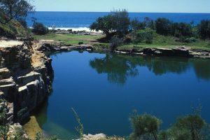 Angourie Blue Pool.